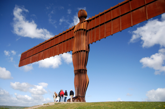 The Angel of the North, Gateshead, Tyne and Wear